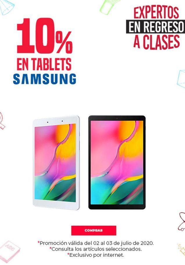 Oferta de Tablet Android Samsung por