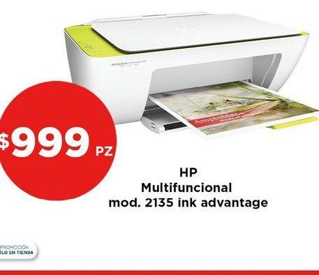 Oferta de Impresora multifunción HP por $999