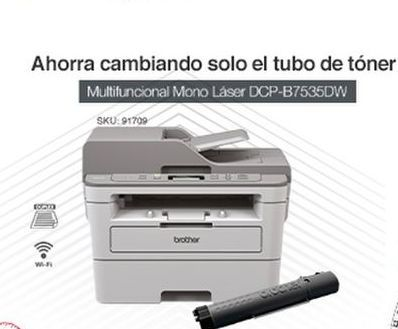 Oferta de Impresora multifunción Brother por