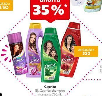 Oferta de Shampoo Caprice por $22
