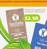 Oferta de Bolsas por $2.5