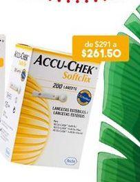 Oferta de Farmacia Accu-Chek por $261.5