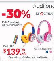 Oferta de Audífonos Spectra por $139.3