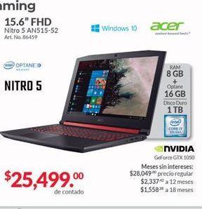 Oferta de Laptop Acer por $25499