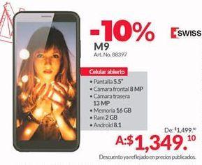 Oferta de Celulares Swiss Mobility por $1349.1