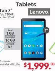 Oferta de Tablet Android Lenovo por $1999