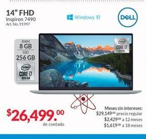 Oferta de Laptop Dell por $26499