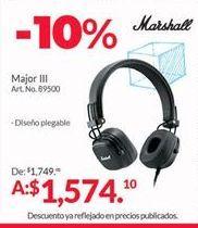 Oferta de Audífonos Marshall por $1574.1