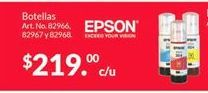 Oferta de Tinta impresora Inkjet Epson por $219