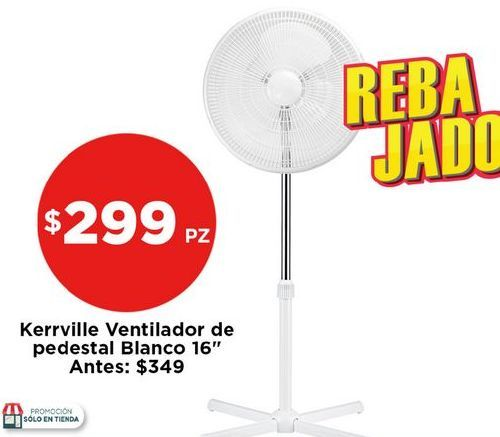Oferta de Ventilador de pedestal Kerville por $299