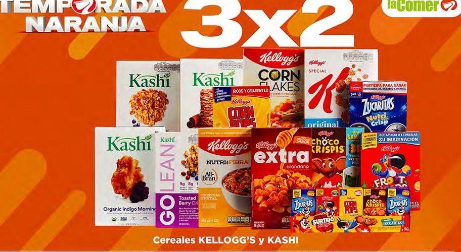 Oferta de Cereales Kellogg's por