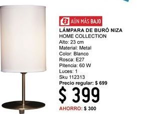 Oferta de Lámparas Home Collection por $399