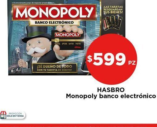 Oferta de Hasbro Monopoly banco electrónico por $599