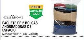 Oferta de Paquete De 2 Bolsas Ahorradoras De Espacio Home & Home por