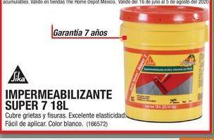 Oferta de Impermeabilizante Super 7 18L por