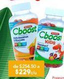 Oferta de Vitaminas CBoost por $229