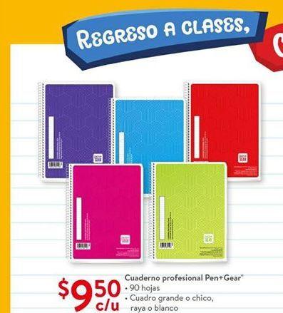 Oferta de Cuaderno profesional Pen+Gear por $9.5