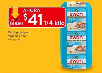 Oferta de Pechuga de pavo Zwan por $41
