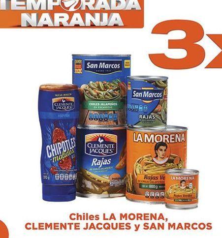 Oferta de Chiles San Marcos 3x2 por