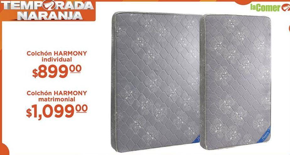Oferta de Colchón Harmony Individual  por $899