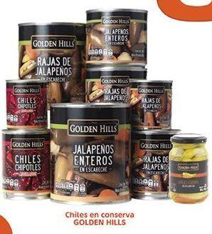 Oferta de Chiles En Conserva Golden Hills por