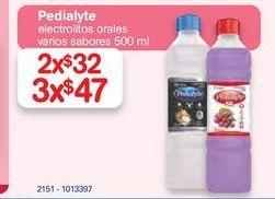 Oferta de Pedialyte x2 por $32