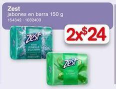 Oferta de Zest Jabones en bara 150g por $24
