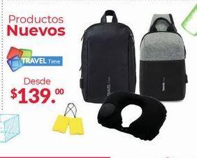 Oferta de Productos Nuevos Travel Time por $139