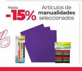 Oferta de Artículos De Manualidades Seleccionados -15% por