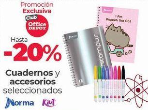 Oferta de Hasta -20% Cuadernos y accesorios por