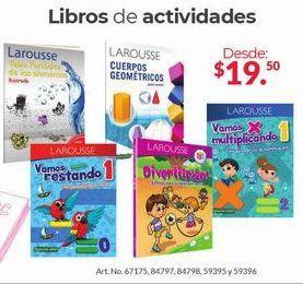 Oferta de Libros De Actividades por $19.5