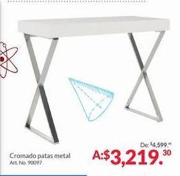 Oferta de Cromado Patas Metal por $3219.3