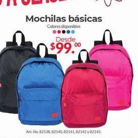 Oferta de Mochilas Básicas por $99