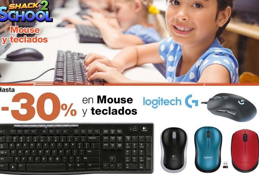 Oferta de Hasta -30% en mouse teclados Logitech por