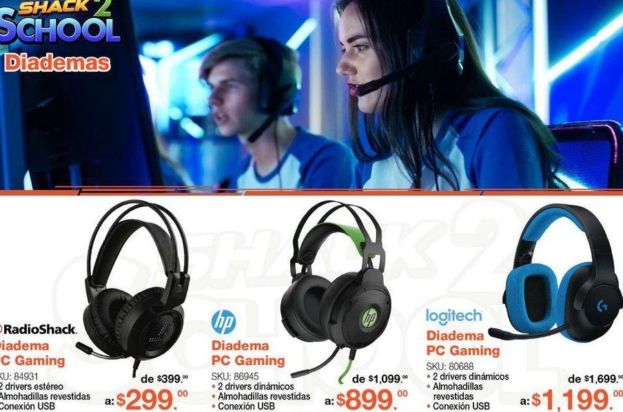 Oferta de Audífonos Radioshack por $299