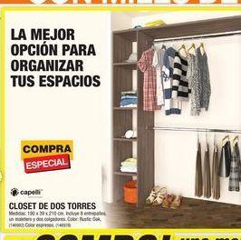 Oferta de Closet De Dos Torres por