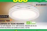 Oferta de Lámpara De Techo Redondo por $385