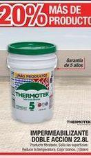 Oferta de Impermeabilizante Doble Accion 22,8L por