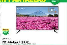 Oferta de Pantalla Smart tv led 40'' FHD por