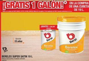 Oferta de Pintura Berelex Super Satin 19 L por