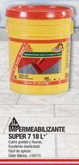 Oferta de Impermeabilizante Super 7 18 L Sika por