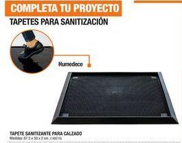 Oferta de Tapetes Para Sanitización por