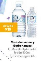 Oferta de Agua Gerber por $18