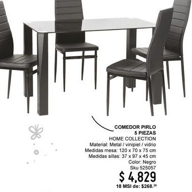 Oferta de Comedores Home Collection por $4829