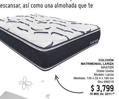 Oferta de Colchón por $3799