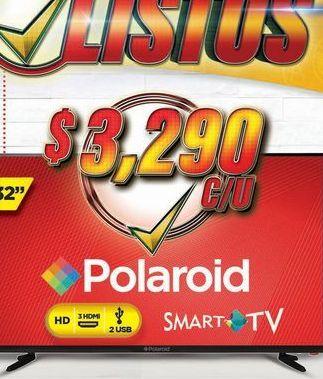 Oferta de Smart tv led Polaroid por $3290