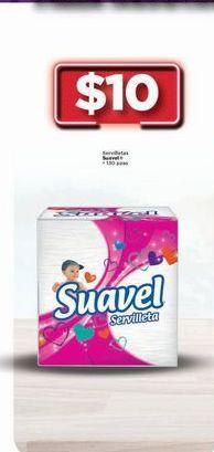 Oferta de Servilletas de papel Suavel por $10