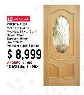 Oferta de Puerta Alba por $8999