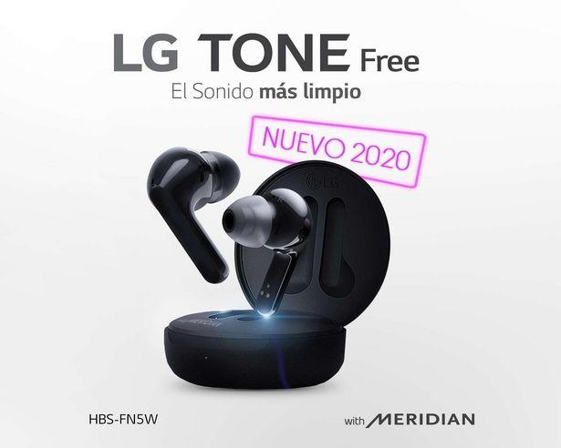 Oferta de Audífonos True Wireless LG con Manos Libres HBS-FN5W por $3499