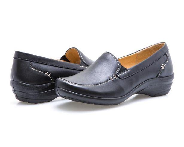 Oferta de Zapatos marca Brantano de Piel color Negro para Mujer por $499